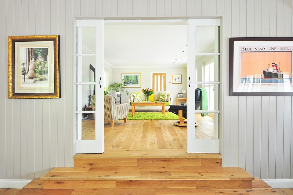 Sklenené dvere ako dizajnový prvok