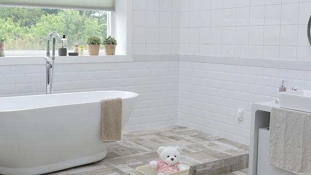 Vysnívaná kúpeľná podlá seba