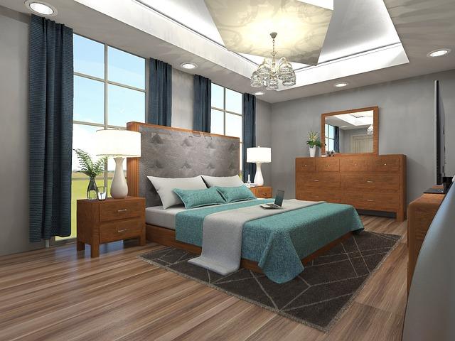 Ako usporiadať nábytok vo vašej spálni?