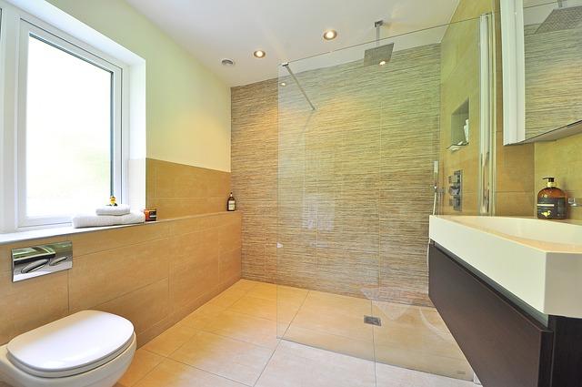skleněná zástěna sprchového koutu