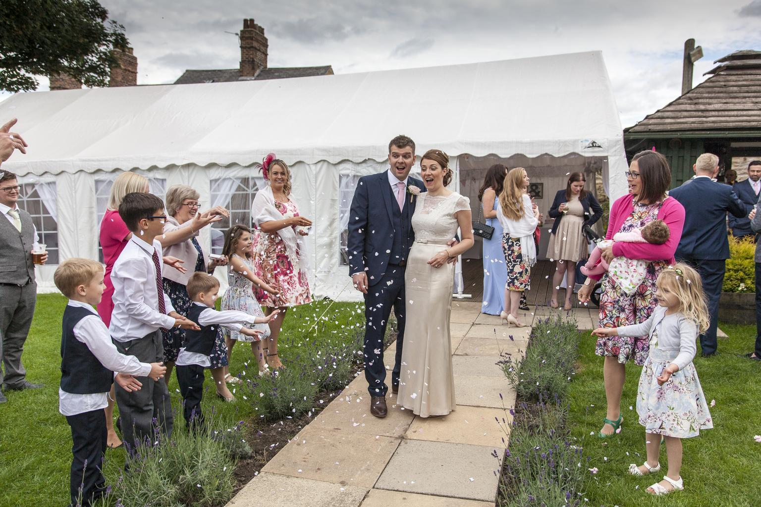 svadba, oslavy